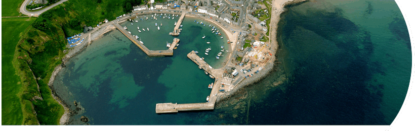 Stonehaven Harbour - Aerial Photo